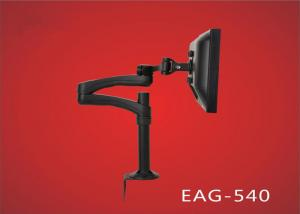 China Aluminum LCD Swivel Monitor Arm High Lifting LCD Desk Mount EAG-540 on sale