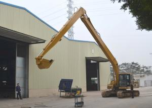 China 0.4 Cum Bucket Long Reach Excavator Booms 2 Ton Counter Weight CAT320 8000 Mm Stick Length on sale