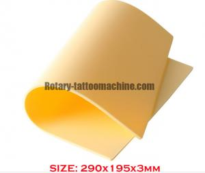 China Synthetic Artificial Tattoo Skin , Artists Tattoo Practice Pads Environment - Friendly on sale