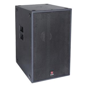 China Single 18'' Sub 1250W RMS Power indoor discos  clubs and outdoor shows popular sales power speaker box pro audio speaker on sale