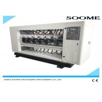 Up And Down Lift Type Slitter Scorer Machine For Cutting Corrugated Box PLC Controlled