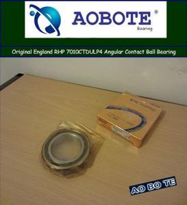 China Low Vibration Angular Contact Ball Bearing RHP 7010CTDULP4 , SKF Ball Bearing on sale