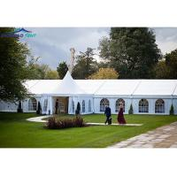 China European Standard Wedding Party Marquee With PVC , Glass Window on sale