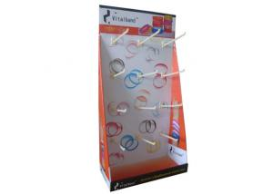 China Portable  Cardboard Counter Displays Shelf ENCD023  Stands for headwear hanging in shops on sale