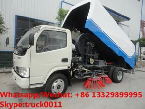 China Factory sale cheapest price China-made dongfeng road sweeping vehicle, Wholesale good price street sweeper vehicle on sale