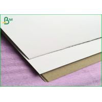 One Side Coated 300gsm Duplex Board For Light Concrete Grouting Wall , Partition Wall Panel
