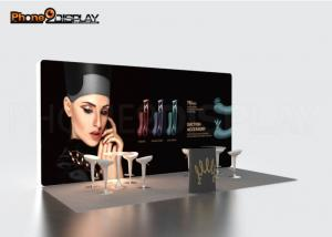 China Advertising Custom Made Trade Show Booths 10x10 Exhibition Display Stands on sale