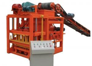 China QTJ4-40 Hydraulic Press Brick Making Machine Concrete Block Manufacturing Equipment on sale