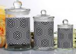 Customized Candle Glass Containers Storage Jar With Lid 710ml