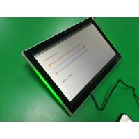 China Auto Boot Up Industrial Terminal 10 Inch Wall mount Android POE meeting room tablet with adjustable LED light on sale