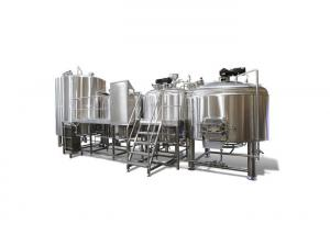 China PLC Controlling Beer Fermentation Energy Saving 50BBL Industrial Brewing Equipment on sale