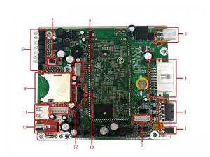 China Custom 4 Channels Turnkey PCB Assembly High Speed SMT And DIP Assembly on sale
