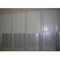 Sound Proof Galvanized Perforated Steel Sheet , Punched Metal Sheet 900mm , 1025mm