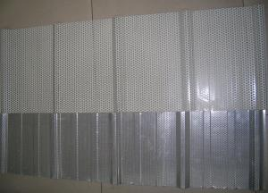 China Sound Proof Galvanized Perforated Steel Sheet , Punched Metal Sheet 900mm , 1025mm on sale