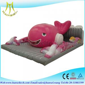 China Hansel children play land inflatable jumping bouncer for sale on sale