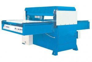 China Facial Mask / Powder Puff Hydraulic Die Cutting Machine LC Program Control on sale