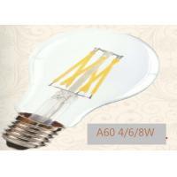 China 240V / 120V Nostalgic LED Chandelier Light Bulbs With Edison Base 38 Gram on sale