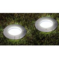 Aluminum IP65 Outdoor Underground Solar Deck Lights With Poly Crystal / Amorphous Panel