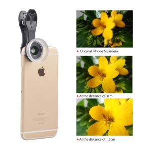 China YISEECA 2017 new 15x super macro lens mobile phone camera lens with universal clip lens for xiaomi  android ios phone on sale