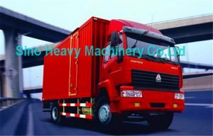 China 371HP SWZ Heavy Equipment 8 Ton Trucks , Diesel 4X2 Cargo Truck For Transport on sale