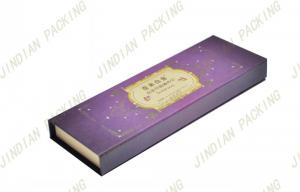 China Book Shape Cardboard Cosmetic Boxes on sale