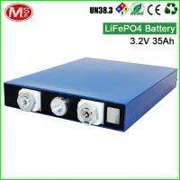 3.2V 35Ah Lithium Ion Prismatic Cell , Portable Solar Power Generator For Home