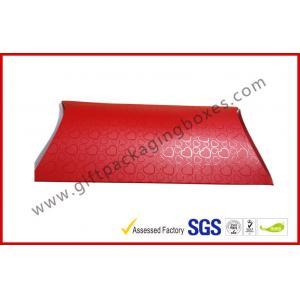 China Boîtes UV faites main d'emballage de panneau de carte d'oreiller de revêtement, boîte rouge de panneau de carte de document d'A4 B5 on sale