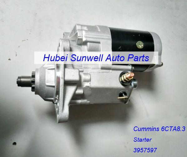 Cummins 6CT engine starter 3957597 / 428000-1340 for sale