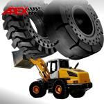 Wheel Loader Solid Tire for Liebherr Vehicle 17.5-25, 20.5-25, 23.5-25, 26.5-25, 29.5-25