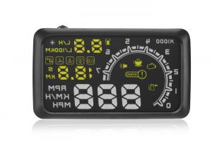 China OBD2 Vehicle Heads Up Speed Display W02 5.5 Inch Rotating Speed 5000r RPM Alarm 5.5  Screen on sale