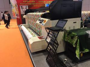 China Cotton / Linen / Polyeter Fabric Printer Machine With Continous Ink Supply on sale