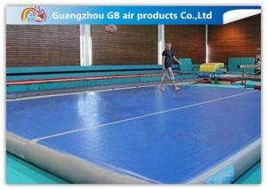 China Drop Stitch Inflatable Air Gym Tumble Track Mat Inflatable For Gymnastic Training on sale