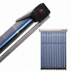 China Higher efficiency heat pipe solar water heater on sale
