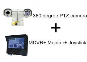 China High Speed 100M IR Distance Car PTZ Camera With 3G GPS MDVR Monitor Joystick on sale