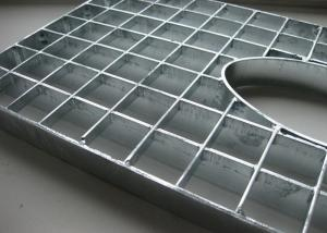 China Structural Composite Heel Proof Grate , Square Iron Close Mesh Bar Grating on sale