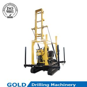 China High speed multi-usage crawler-mounted drilling rig on sale