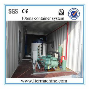 China 25T/D Seawater Flake Ice Machine With CE For Slaughter House , R507 on sale