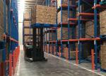 Q235 Steel Warehouse 4000kgs FIFO Drive In Pallet Racking