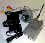 1.2GHZ cámara inalámbrica de la visión nocturna Camera/CCTV