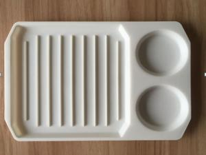 China FBT121702 for wholesales BPA free PP plastic microwave bacon egg grill pan on sale
