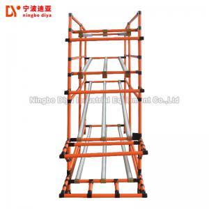 pe coated fifo storage shelf yellow lean pipe heavy duty pallet rh lean tube sell everychina com