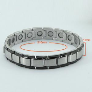 China Black Adjustable Length Bracelet Magnetic for Party,Vacuum Plated on sale
