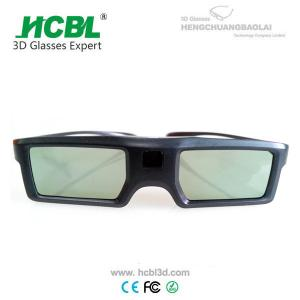 China Light Weight TV 3D Active Shutter Glasses For Sign Acceptable By Bluetooth on sale