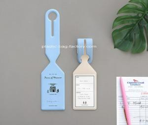 China PVC Trave Luggage Hangtags ID Identifier Tag Travel Baggage Suitcase Label Ideal for Travel Luggage Identification on sale