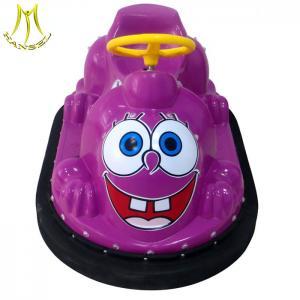 China Hansel amusement kids indoor playground equipment plastic bumper car for sale on sale