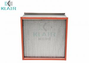 China Heat Baked Oven High Temperature Air Filter For Pharmaceutical Automobile on sale