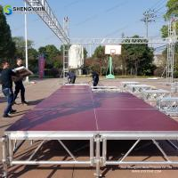 China Hot aluminum stage, used stage for sale with factory price on sale