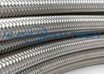 8mm 304 Stainless Steel Wire Sleeve For Metal Cable Conduction / Production