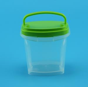 China Eco Friendly Clear Plastic Boxes With Lids Food Grade Material 350Ml 30G on sale