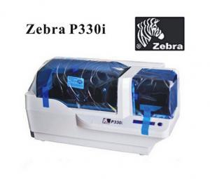 China Original Zebra P330i Single-sided ID Card Printer, Plastic Card Printer on sale